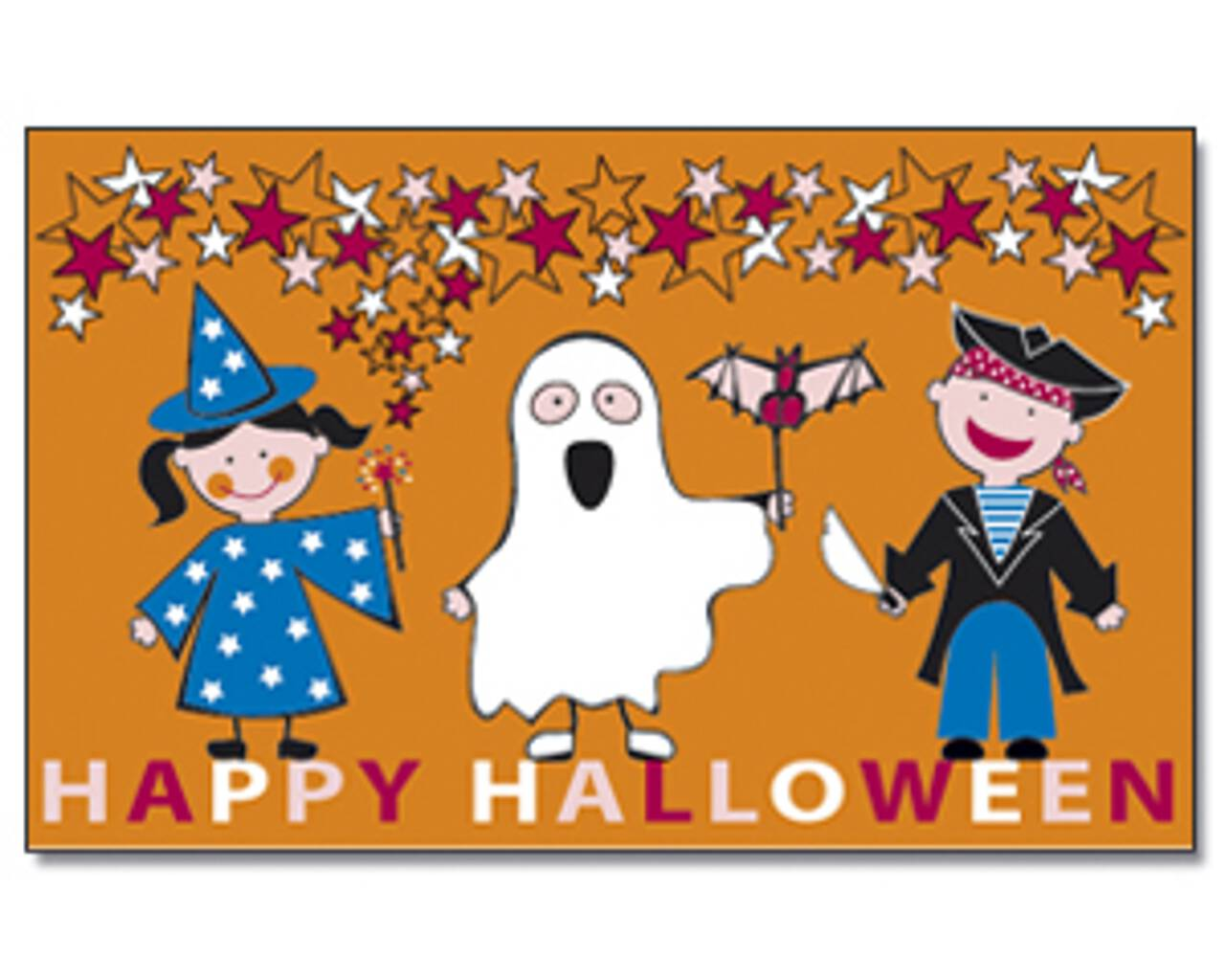 Flagge Halloween Kids 80 g/m²