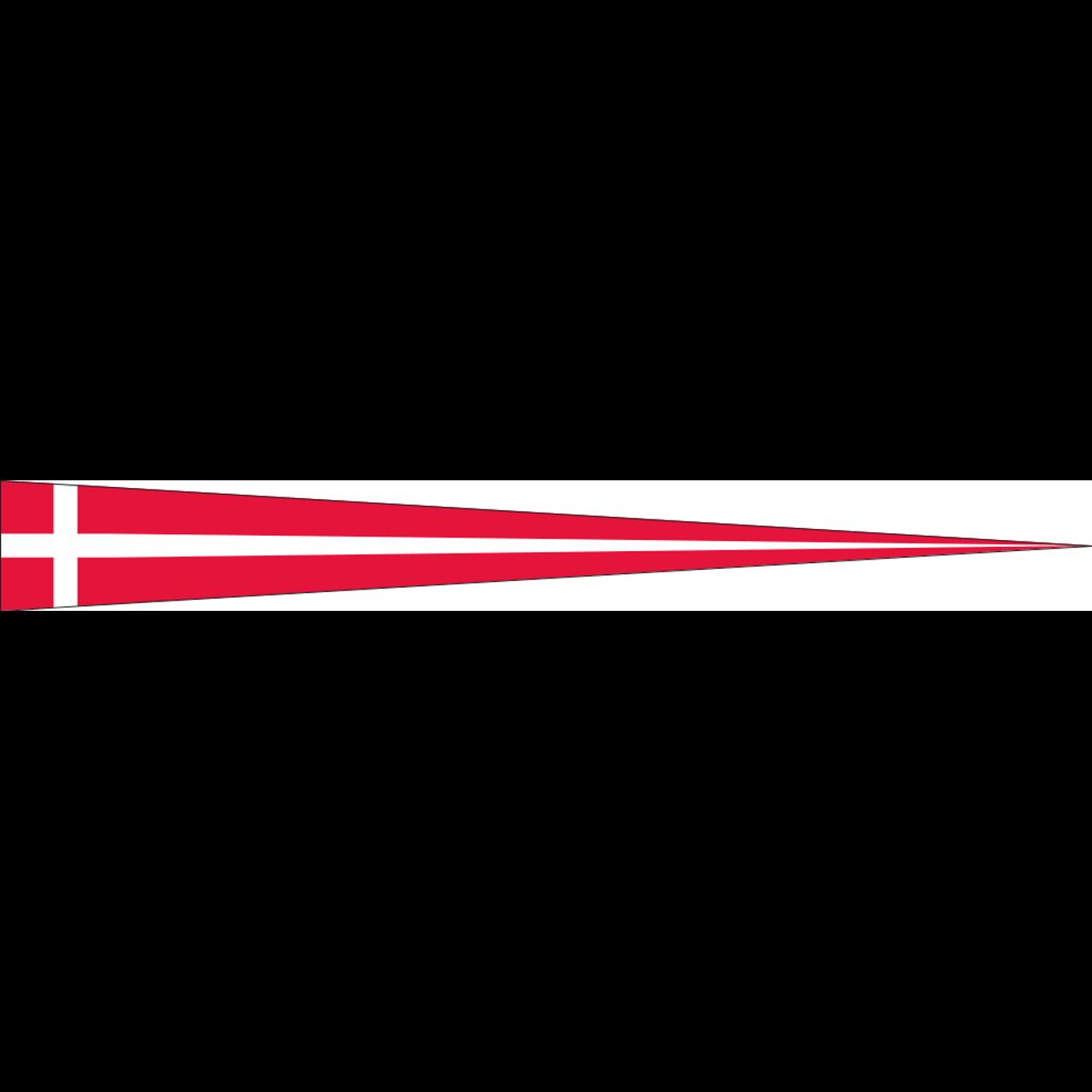 Wimpel Dänemark 110 g/m²