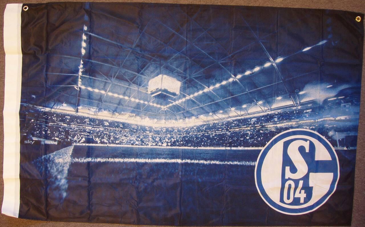 FC Schalke 04 Zimmerflagge VELTINS-Arena