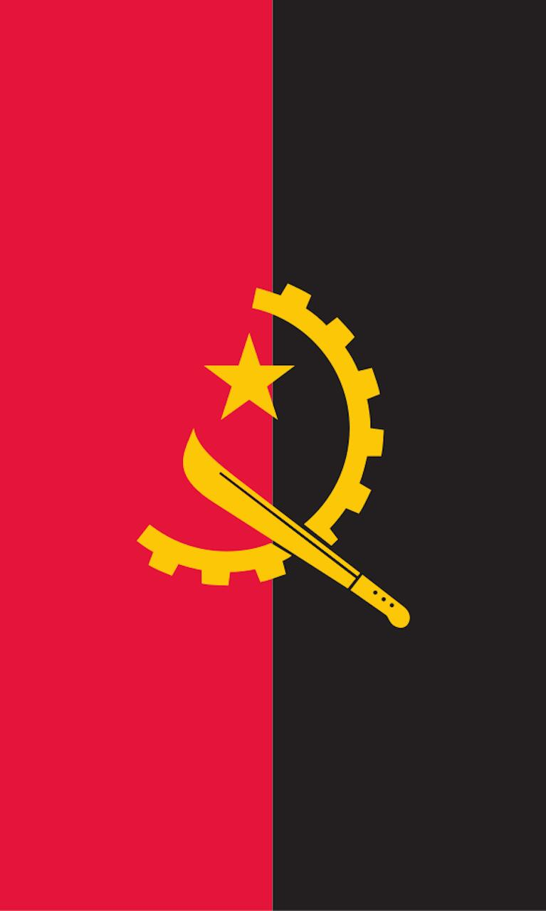 Tischbanner Angola