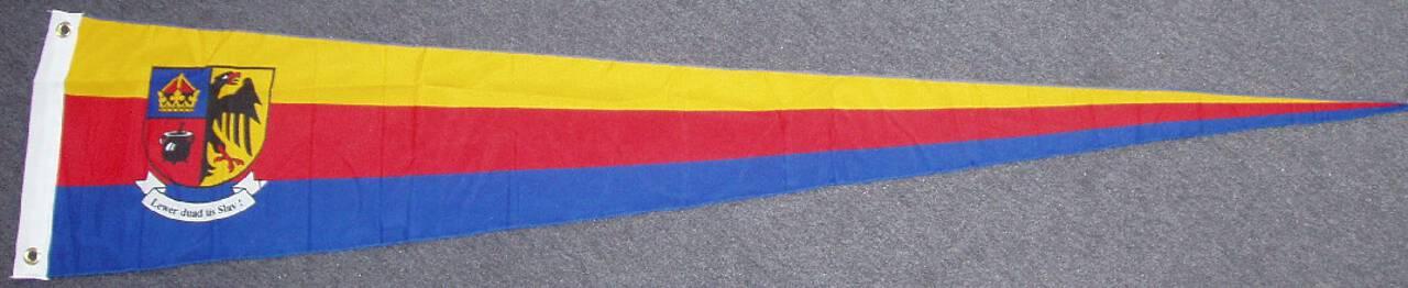 Wimpel Nordfriesland mit Wappen 80 g/m²