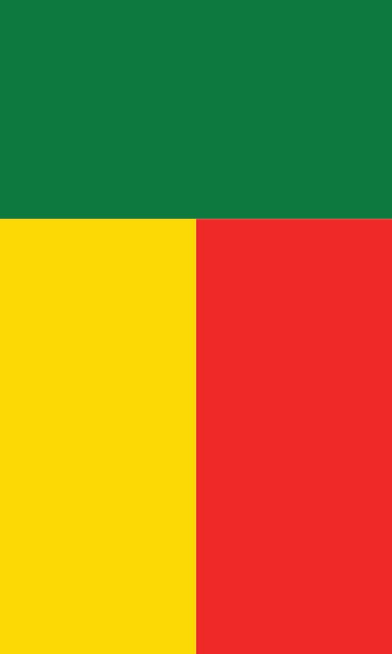 Tischbanner Benin