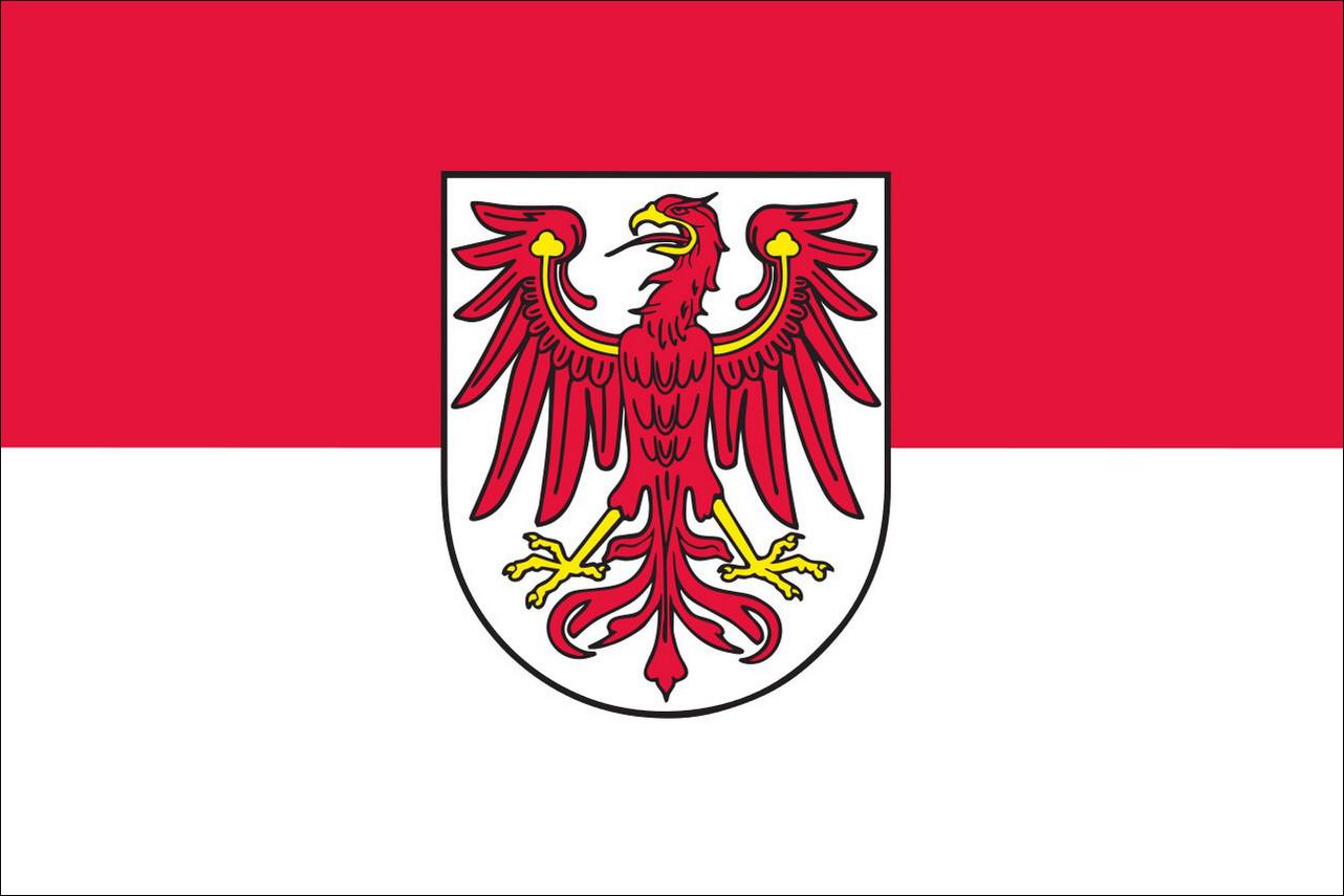 Flagge Brandenburg 160 g/m² Querformat