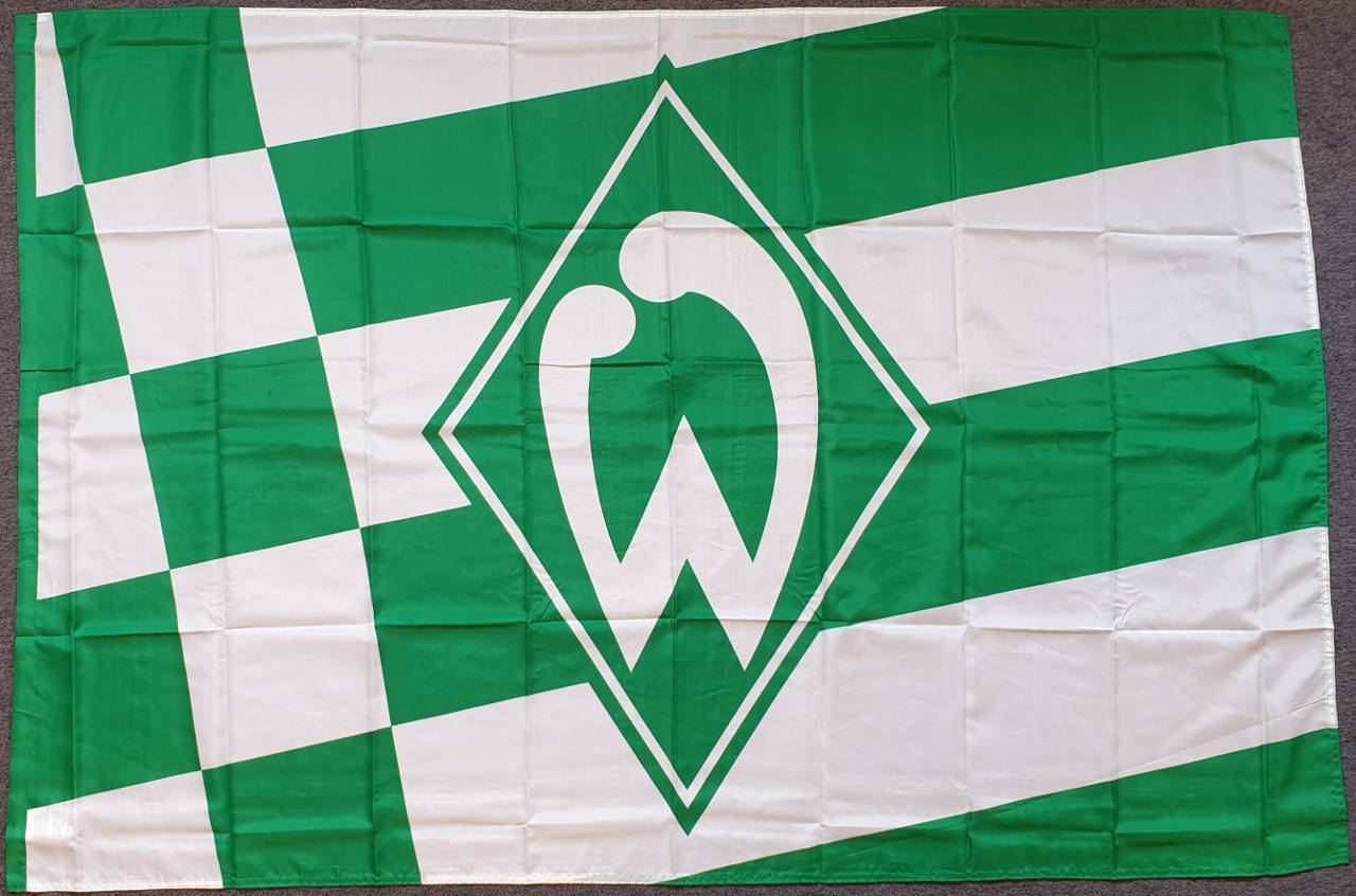 Werder Bremen Schwenkflagge Raute