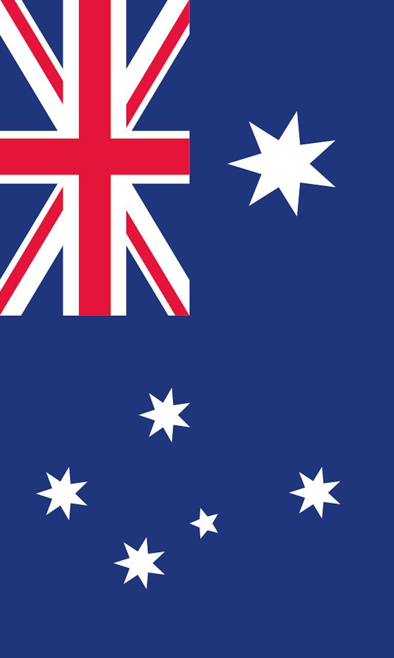 Tischbanner Australien