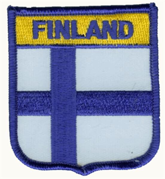Wappenaufnäher Finnland