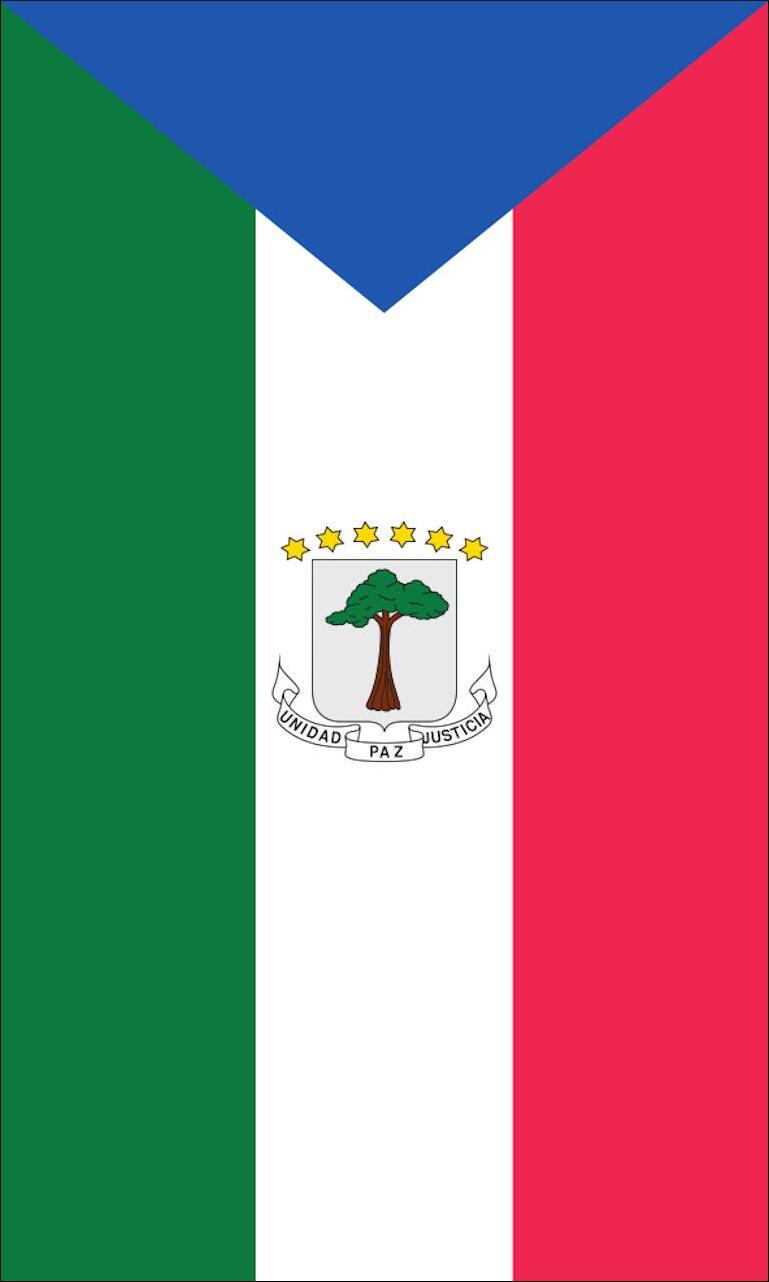 Tischbanner Äquatorialguinea
