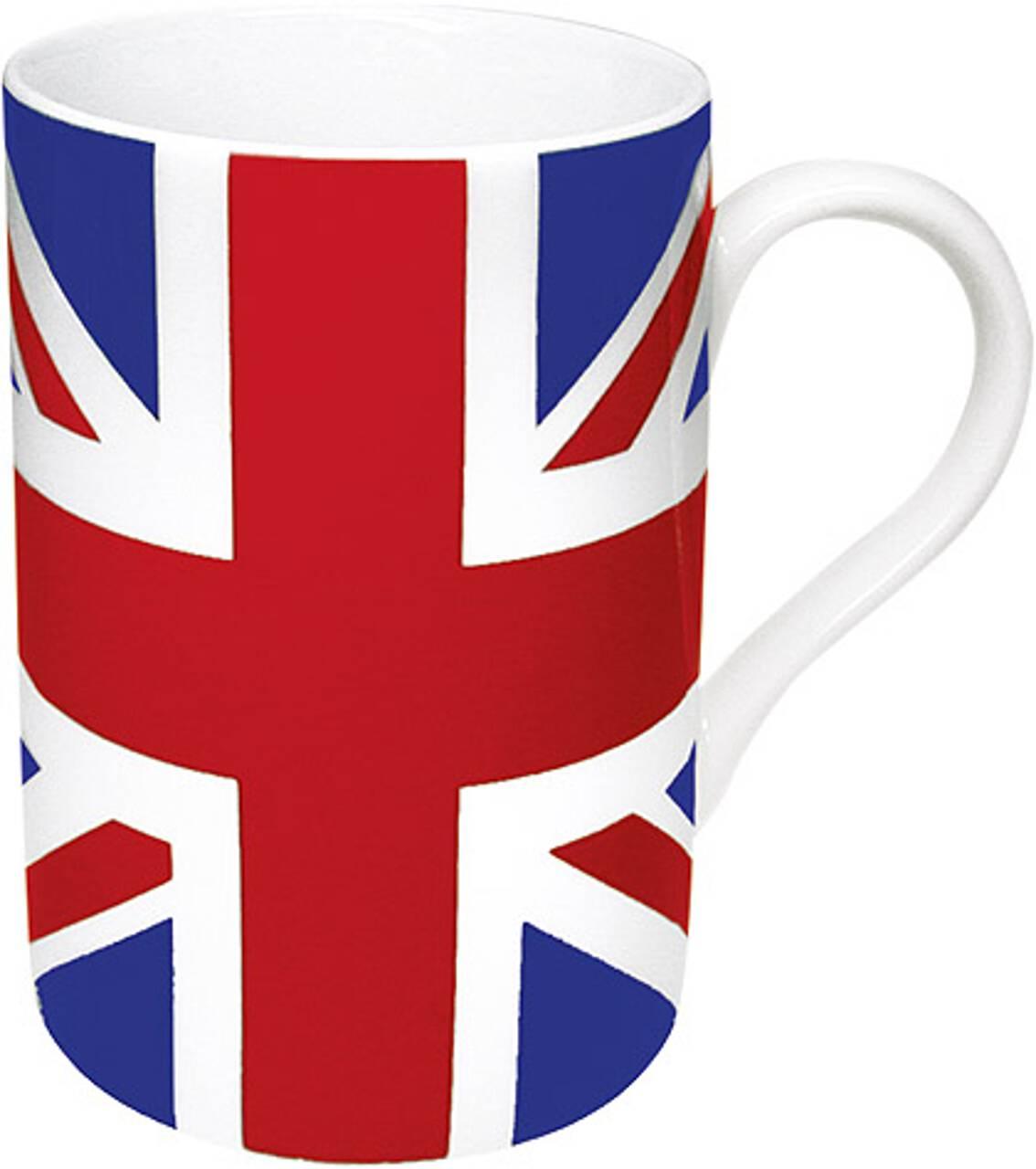 Kaffeebecher mit Motiv Großbritannienflagge
