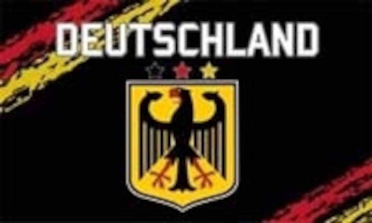 Flagge Deutschland schwarz 80 g/m²