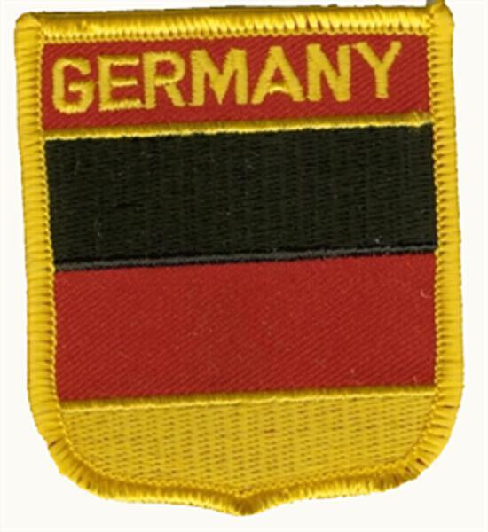 Wappenaufnäher Deutschland