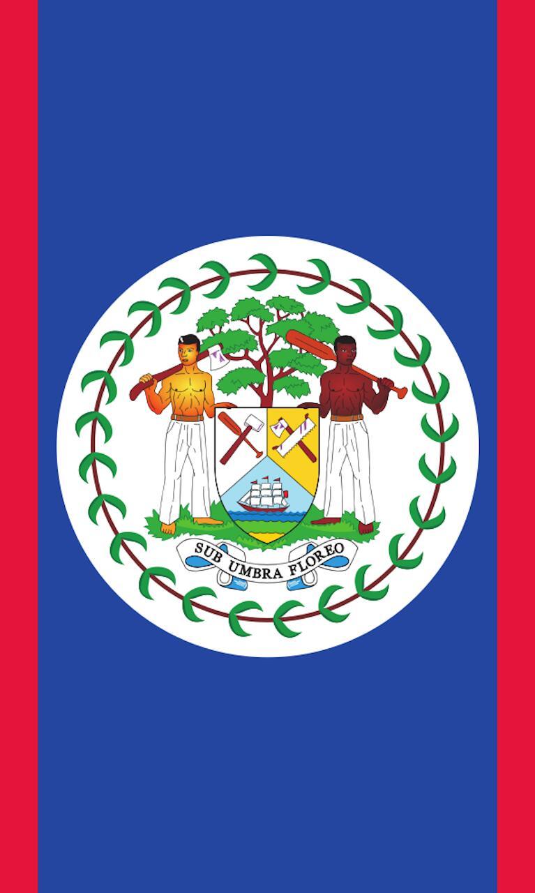 Tischbanner Belize