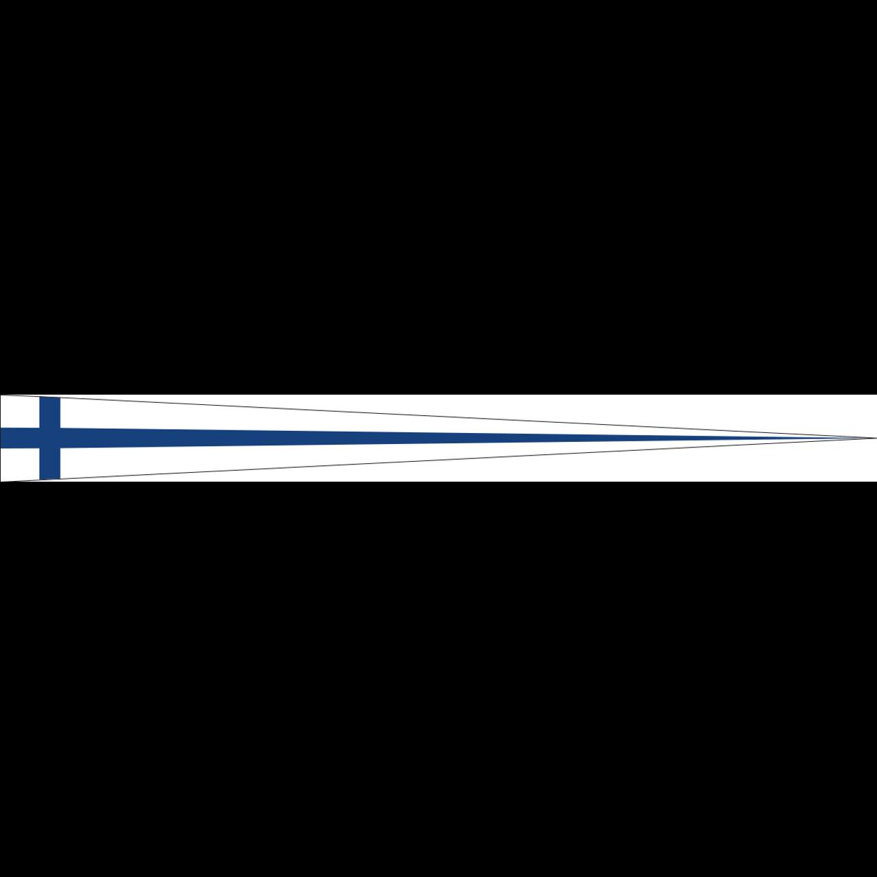 Wimpel Finnland 160 g/m²