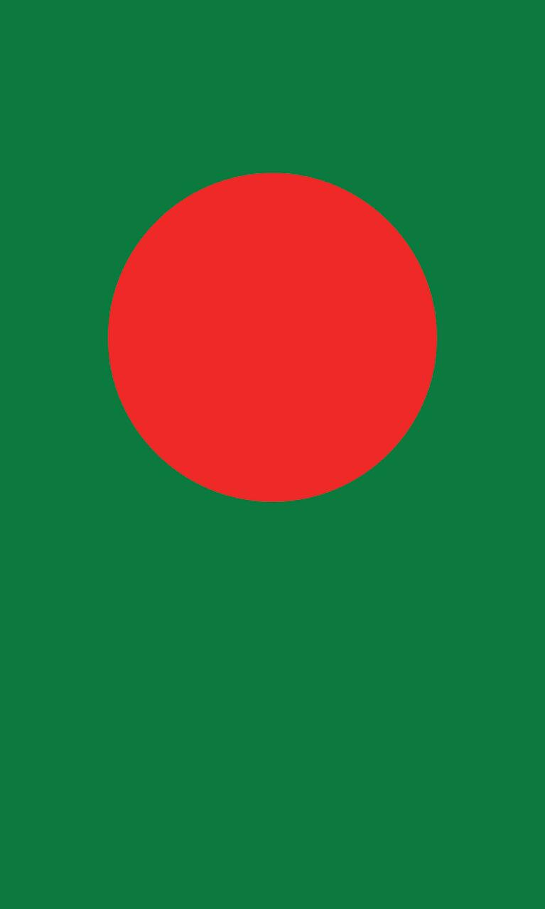 Tischbanner Bangladesch