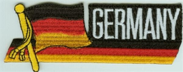 Sidekick-Aufnäher Deutschland