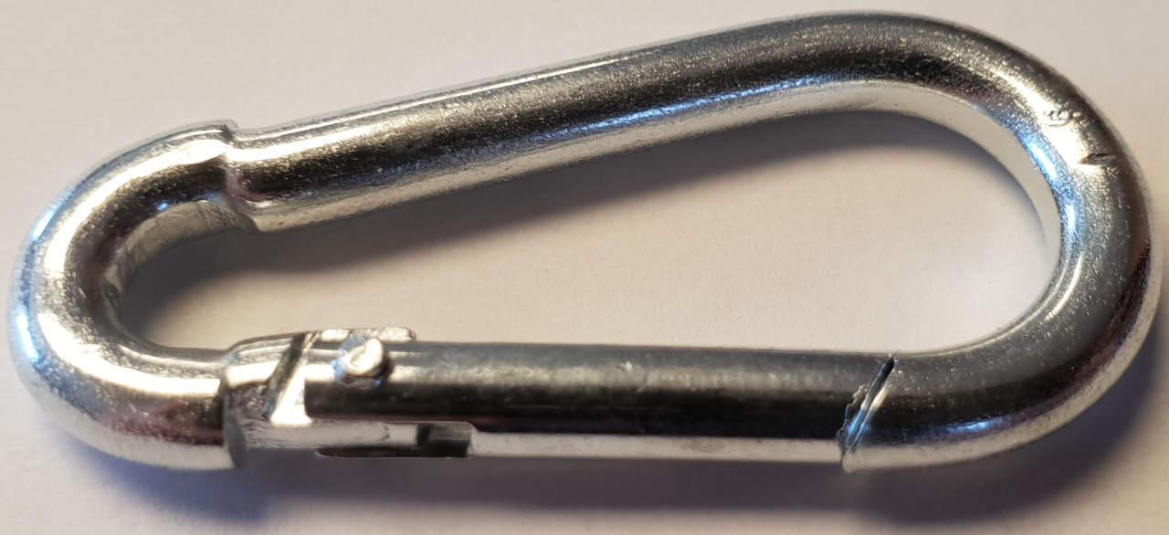 Karabinerhaken Metall klein