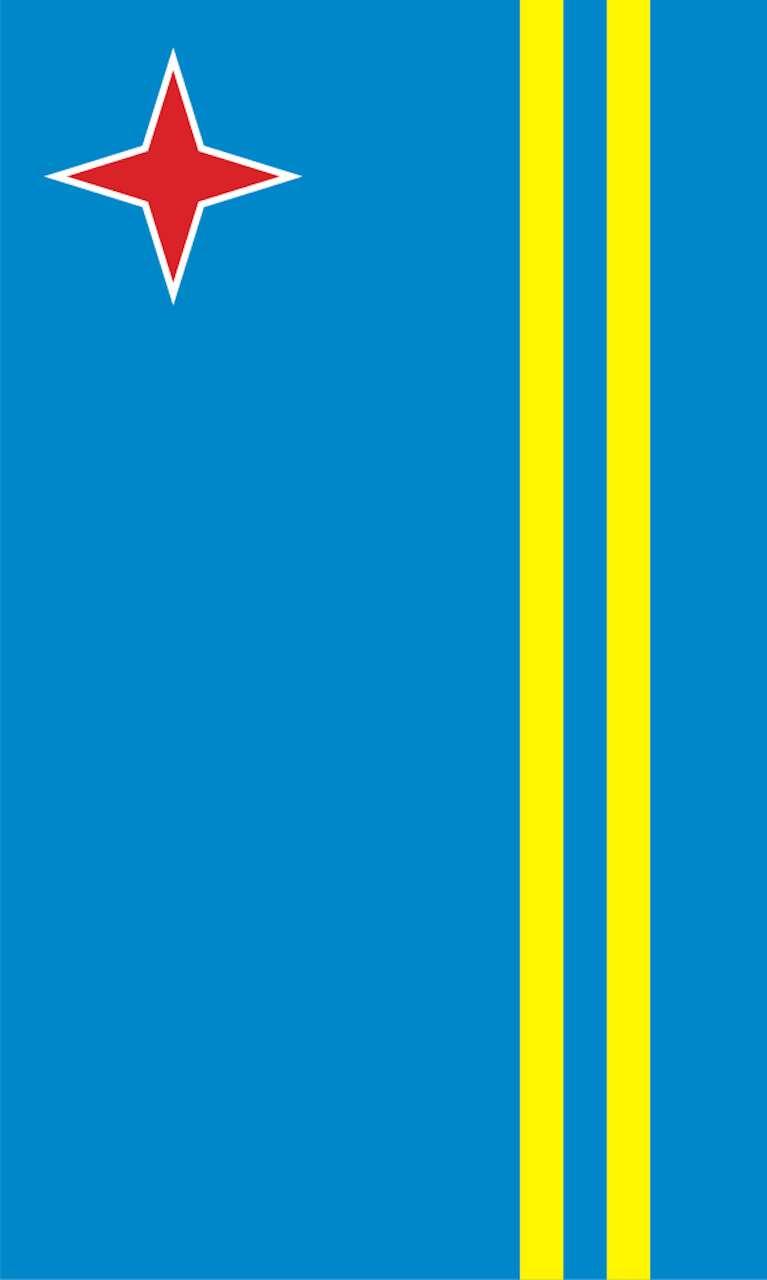 Tischbanner Aruba