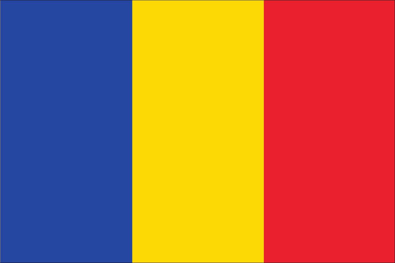 Flagge Andorra 160 g/m² Querformat