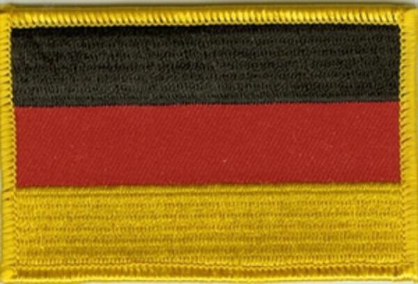 Flaggenaufnäher Deutschland
