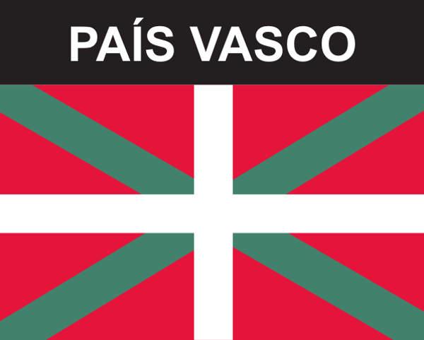 Flaggenaufkleber Baskenland