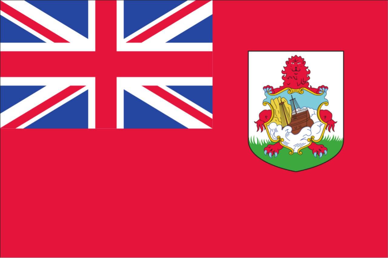 Flagge Bermuda 120 g/m² Querformat