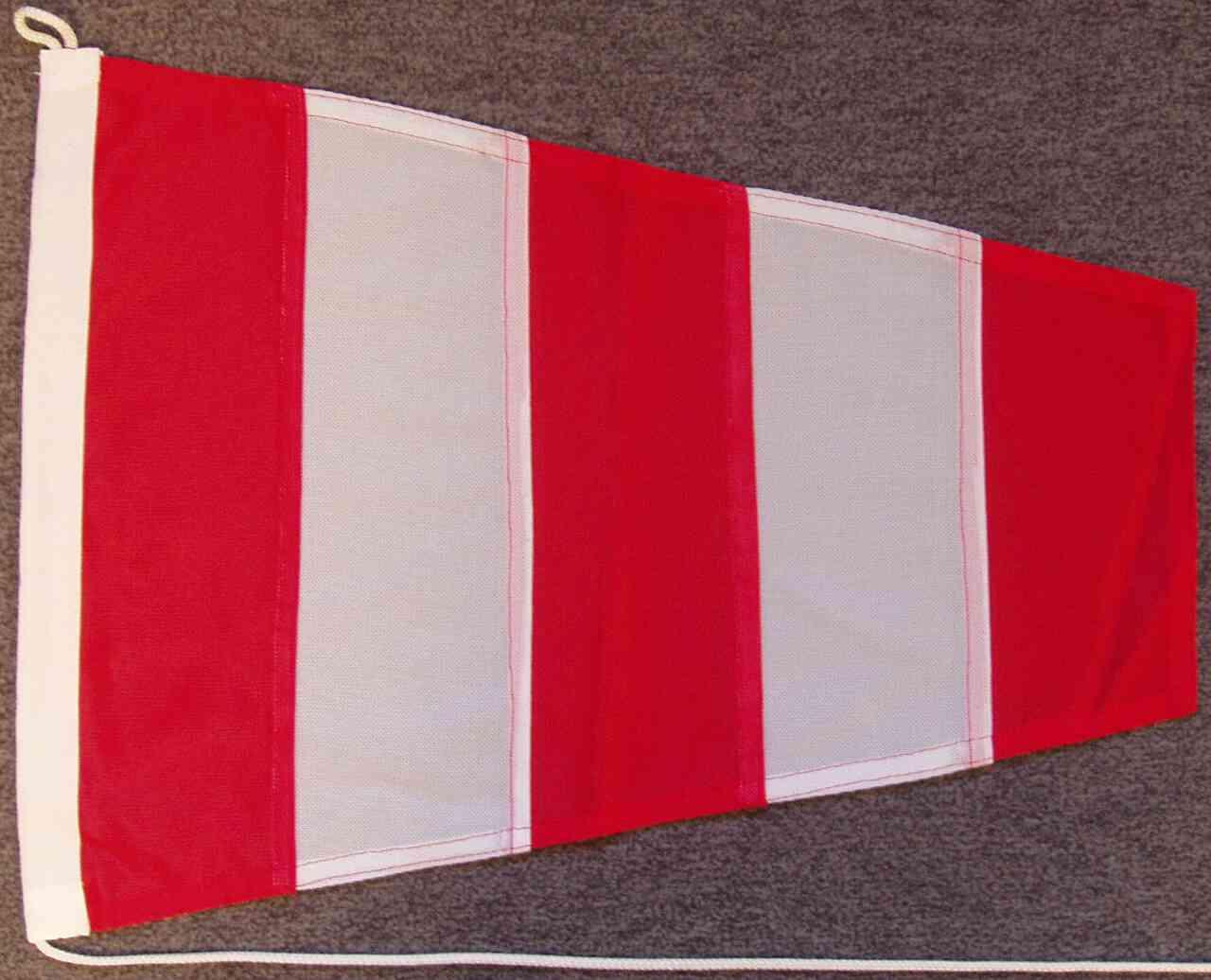 Signalflagge Hilfsstander AP - Antwortwimpel