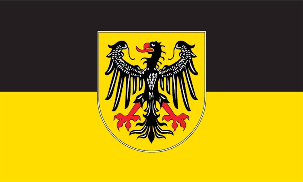 Flagge Aachen 80 g/m²