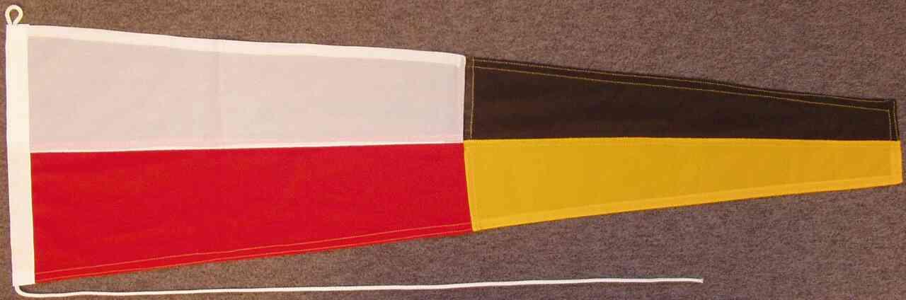 Signalflagge 9 - Novenine