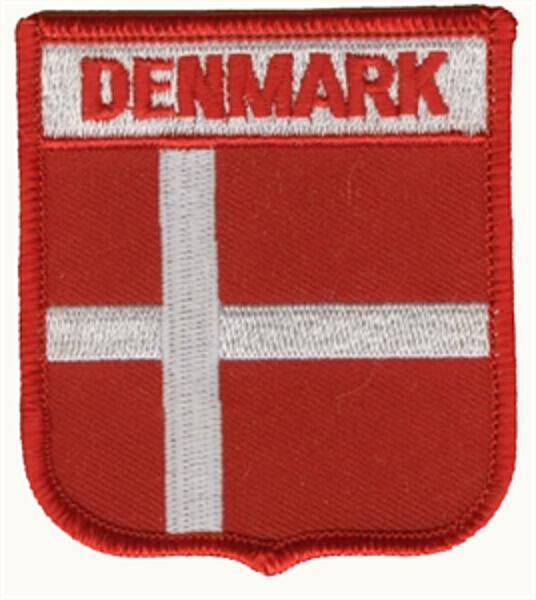 Wappenaufnäher Dänemark