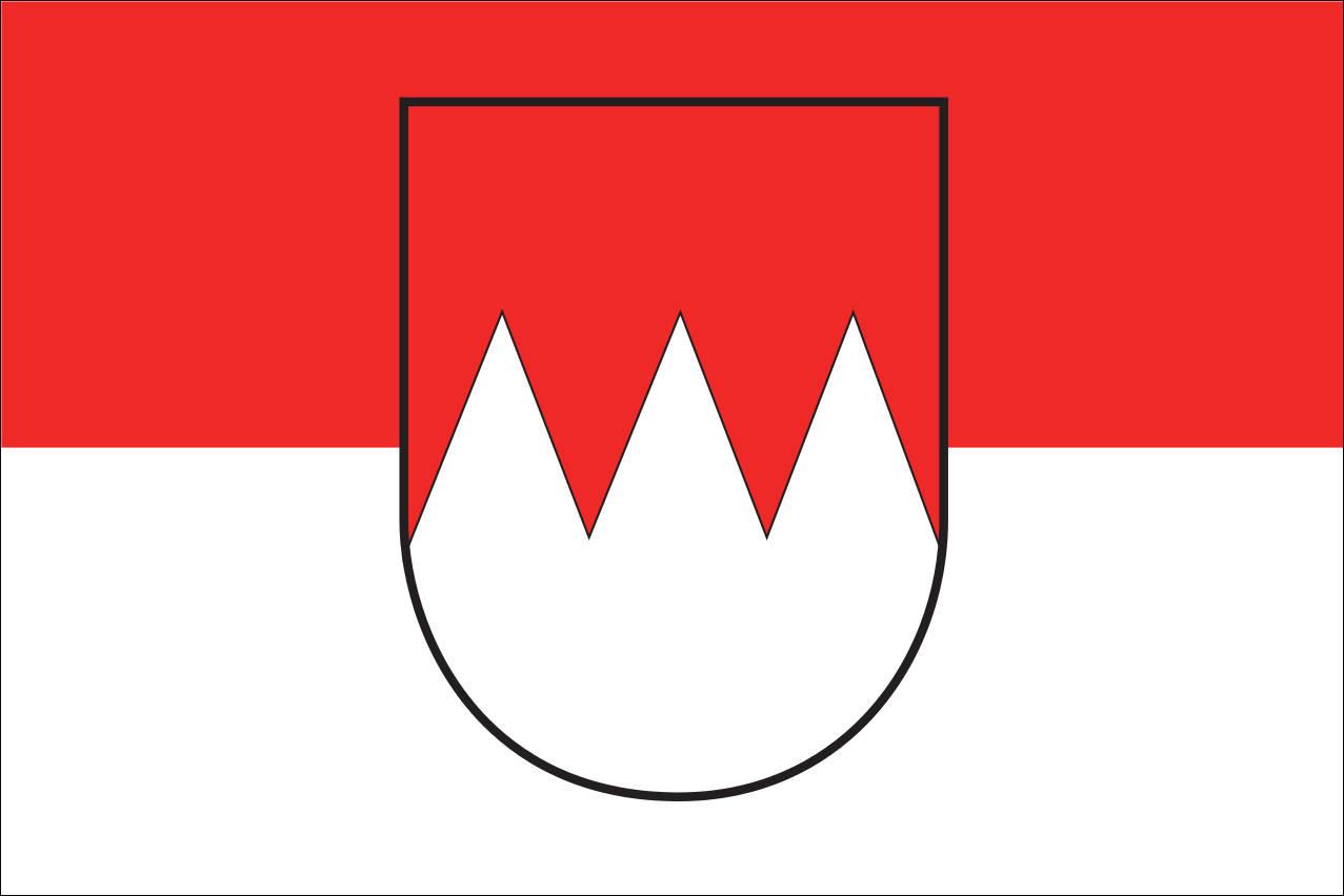 Flagge Franken 160 g/m² Querformat