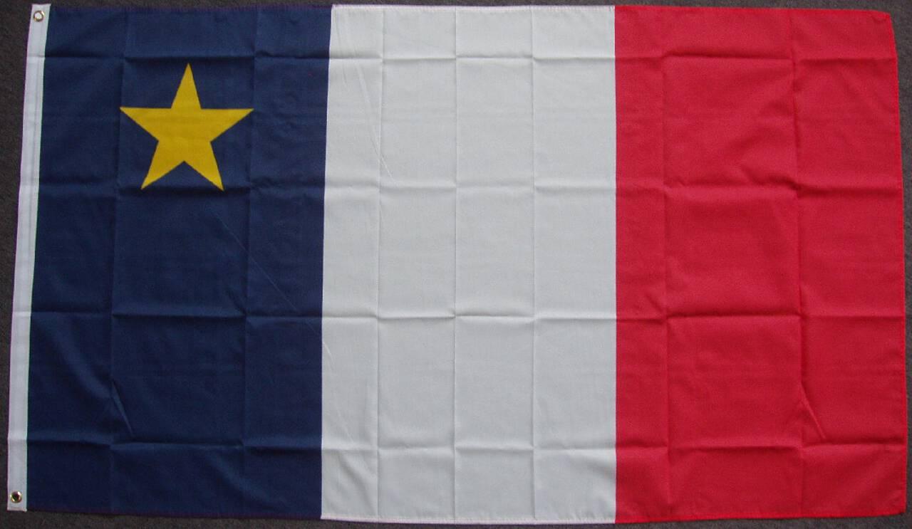 Flagge Akadien 80 g/m²