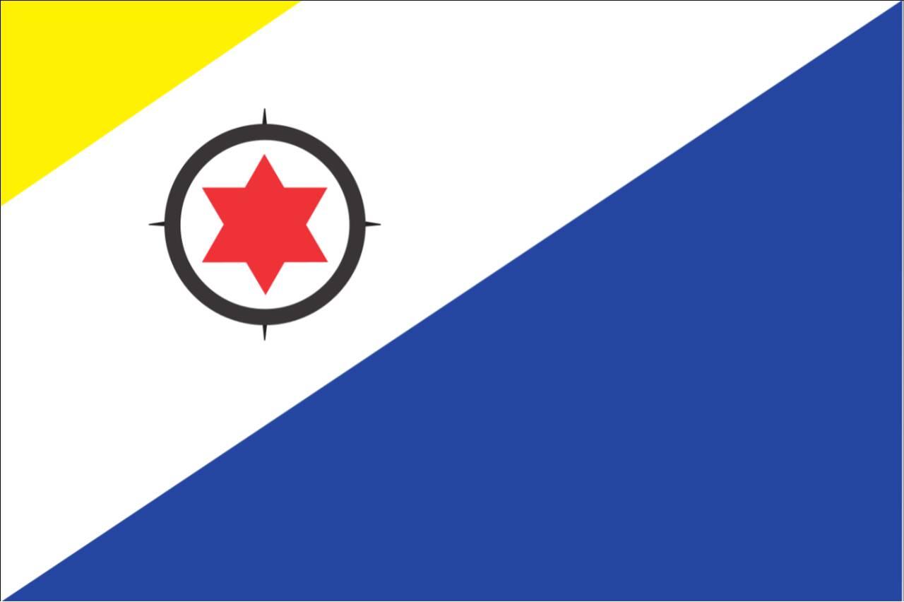 Flagge Bonaire 120 g/m² Querformat