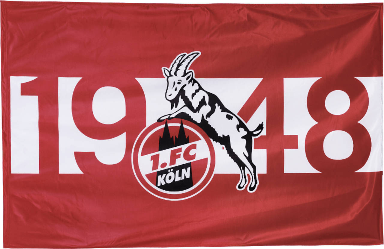 1. FC Köln Schwenkflagge 1948