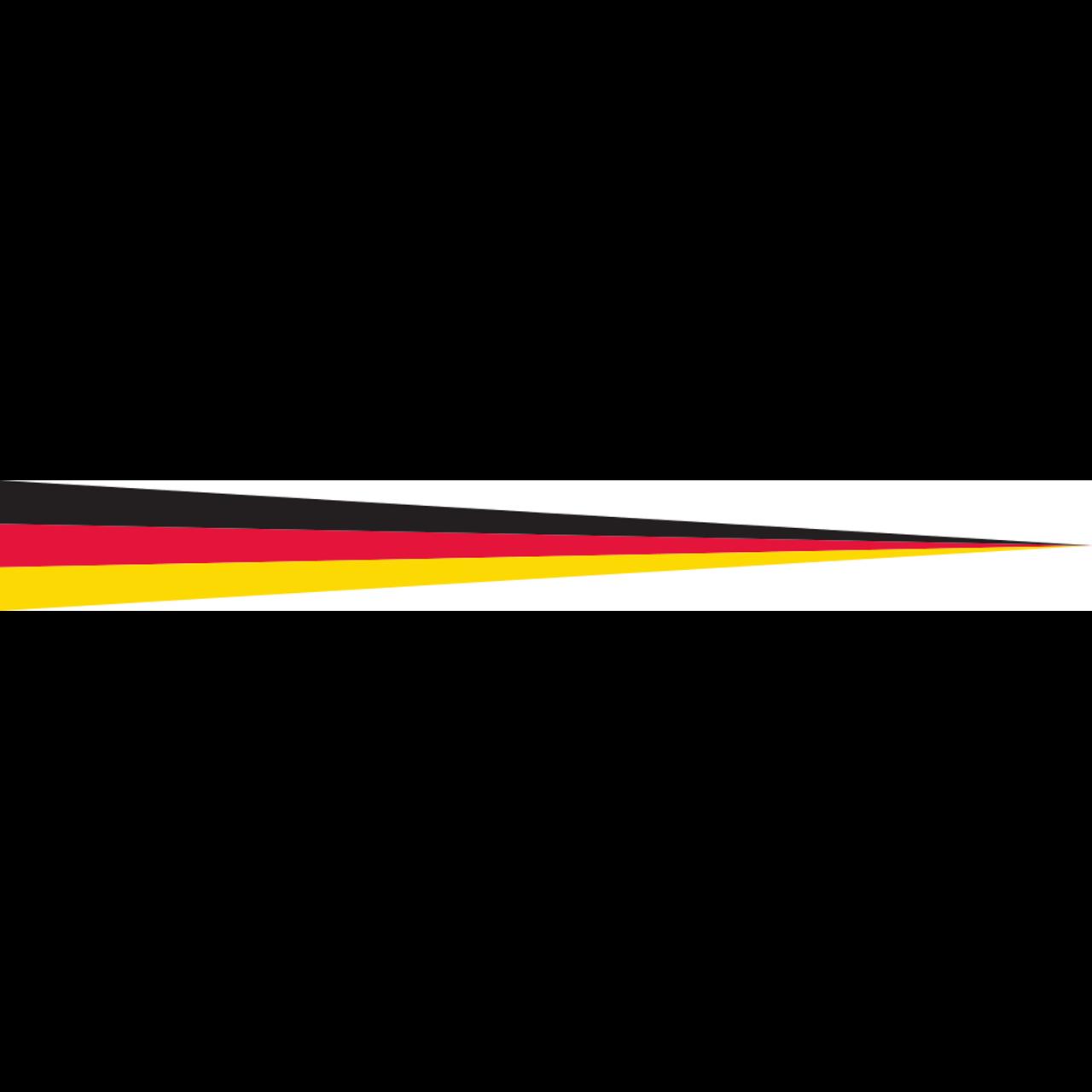 Wimpel Deutschland 160 g/m²