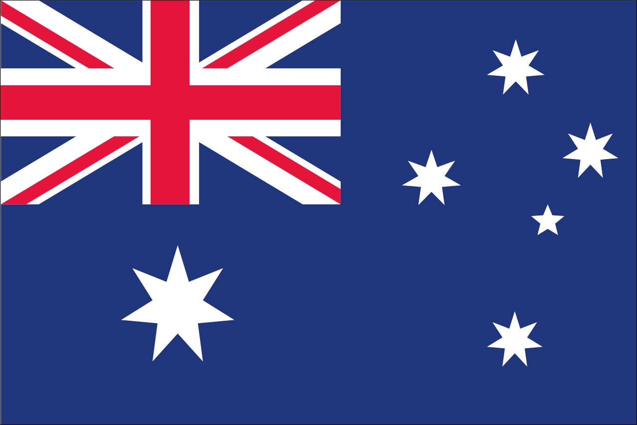 Schnäppchen: Flagge Australien 110 g/m² Querformat, ca. 100 x 150 cm