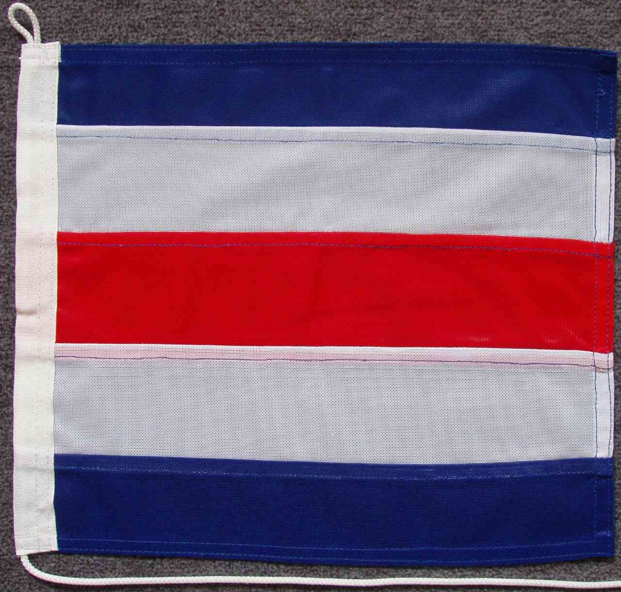 Signalflagge C - Charlie