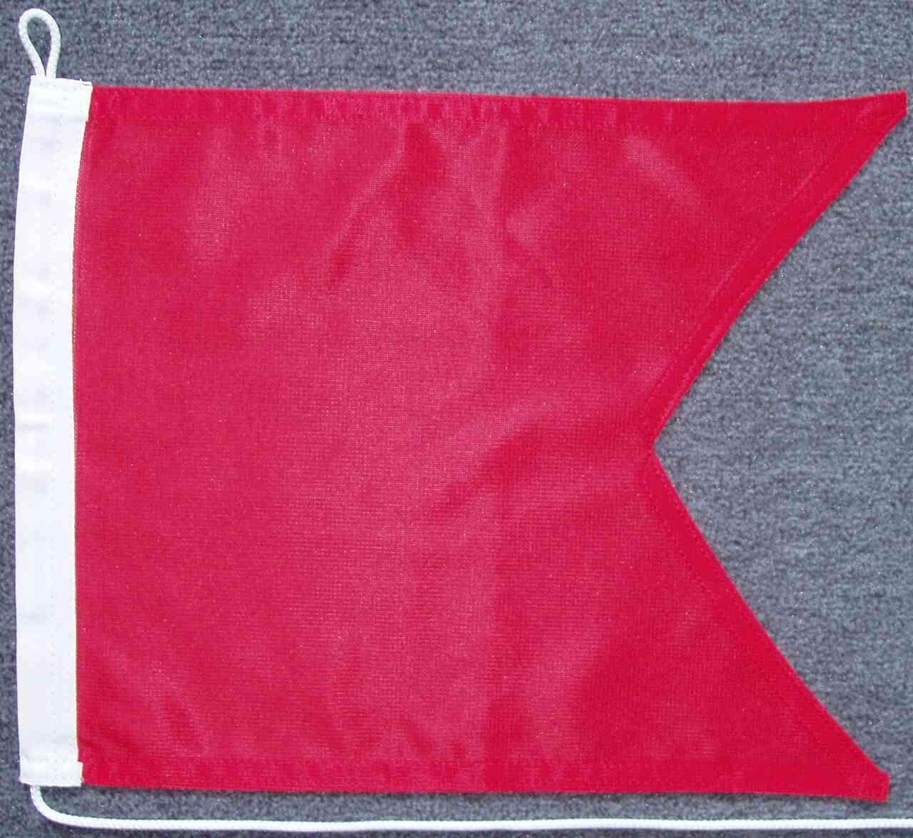 Signalflagge B - Bravo