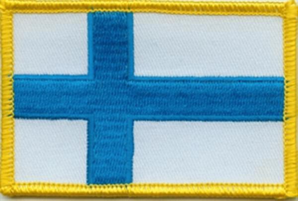 Flaggenaufnäher Finnland