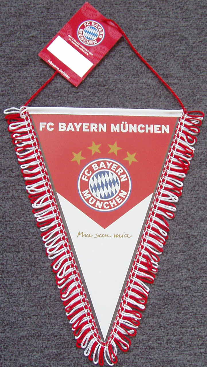 FC Bayern München Wimpel