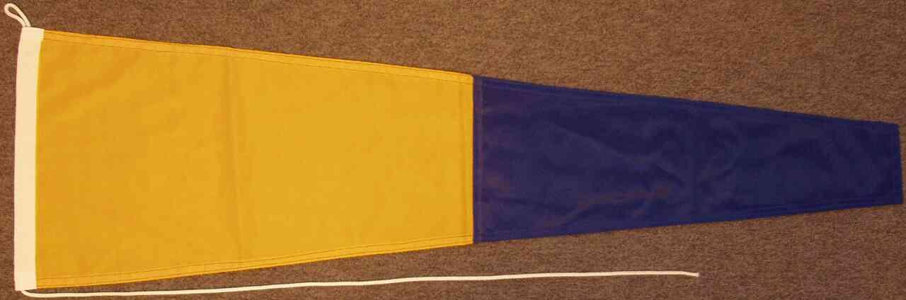 Signalflagge 5 - Pantafive