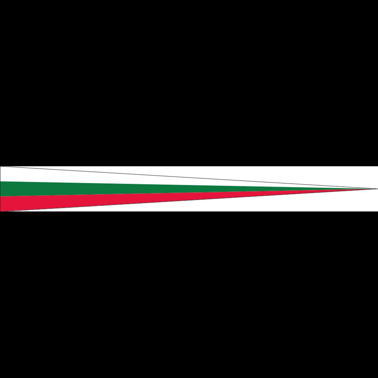 Wimpel Bulgarien 160 g/m²