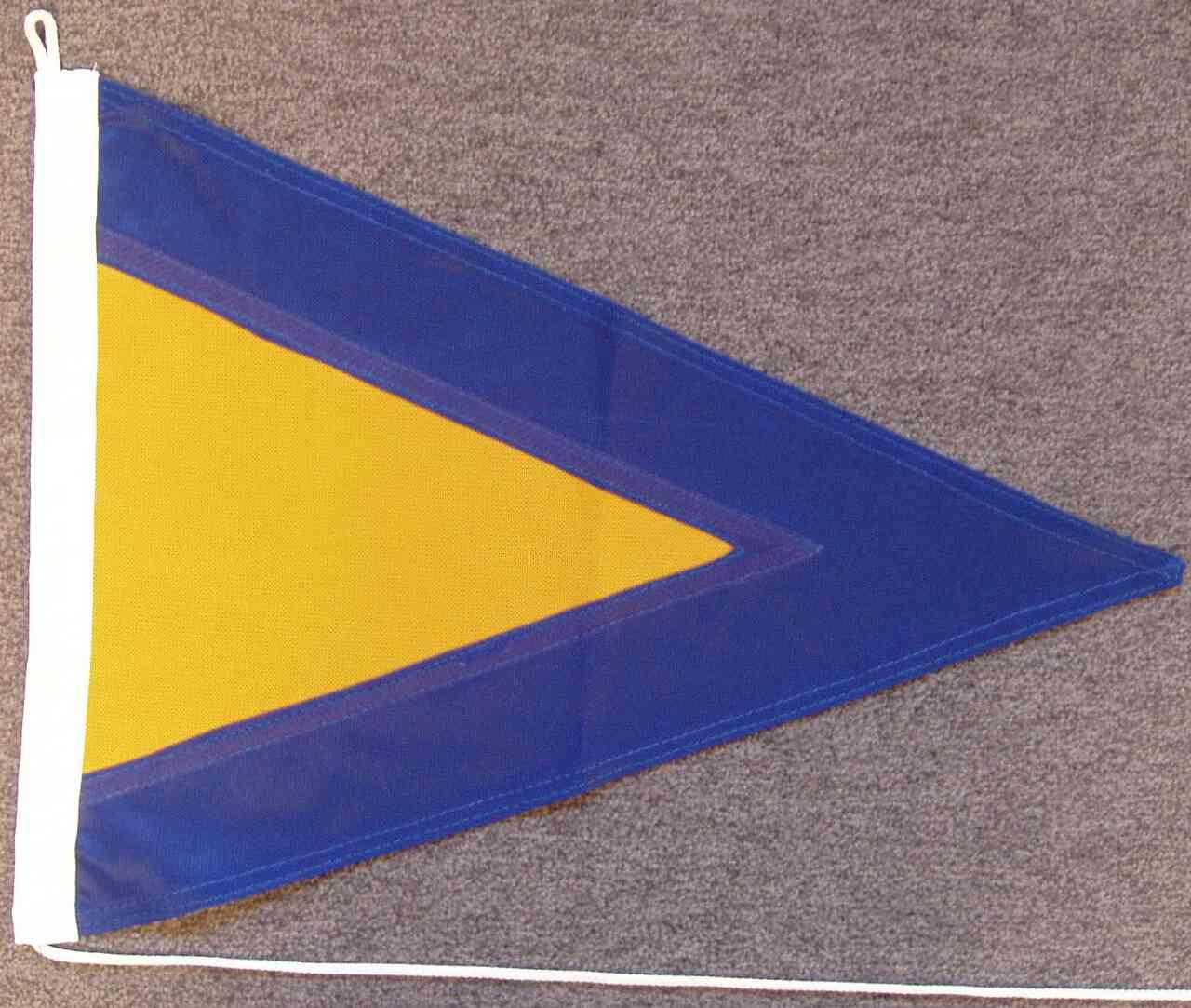 Signalflagge Hilfsstander 1