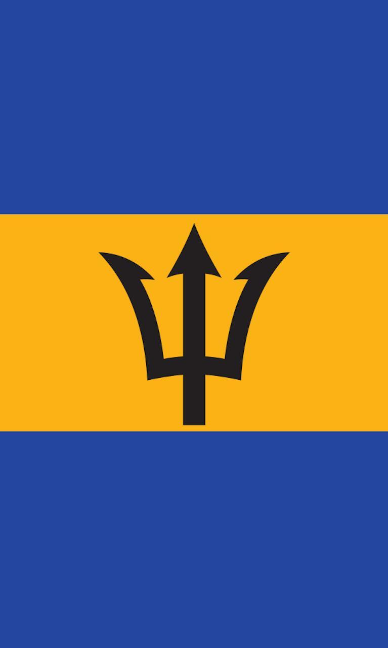 Tischbanner Barbados