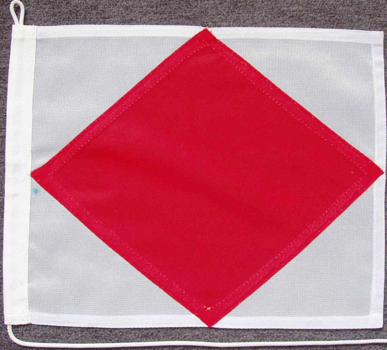 Signalflagge F - Foxtrot