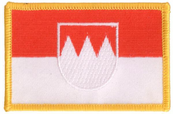 Flaggenaufnäher Franken