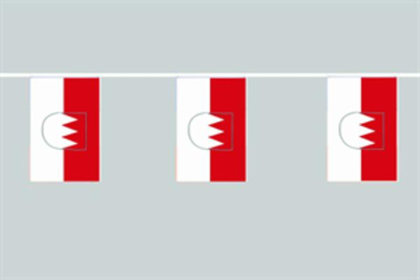 Flaggenkette Franken 6 m 8 Flaggen