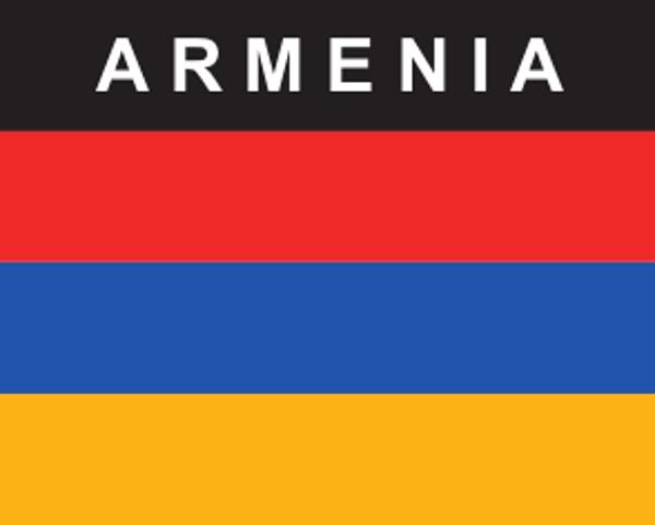 Flaggenaufkleber Armenien