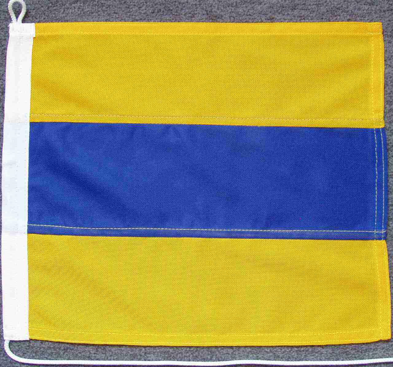 Signalflagge D - Delta