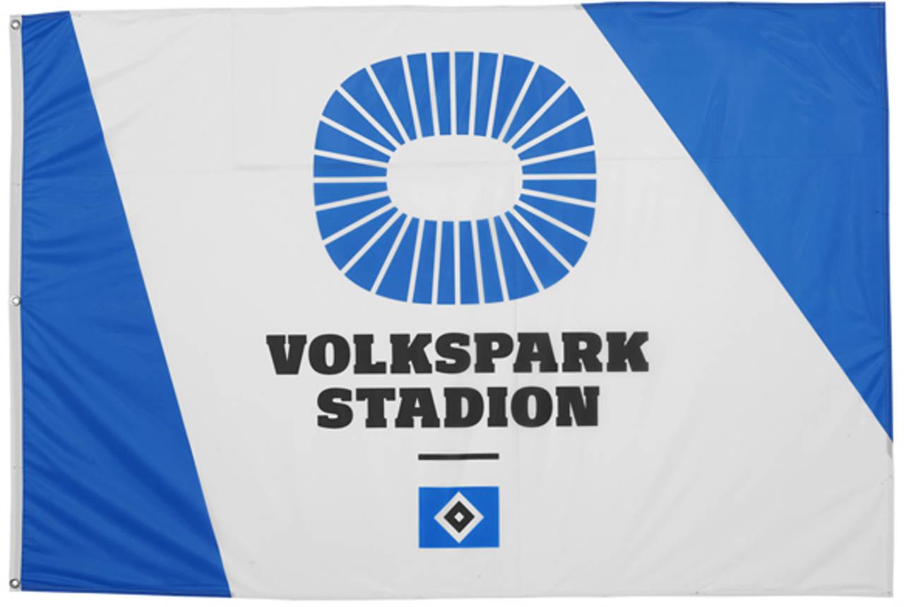 Hamburger Sportverein HSV Hissfahne Volksparkstadion