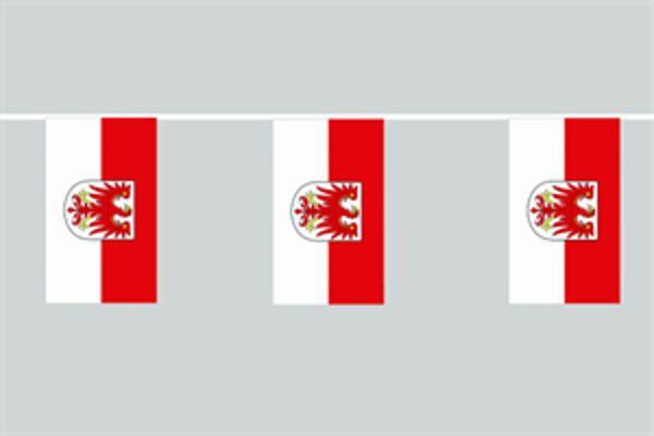 Flaggenkette Brandenburg 6 m 8 Flaggen