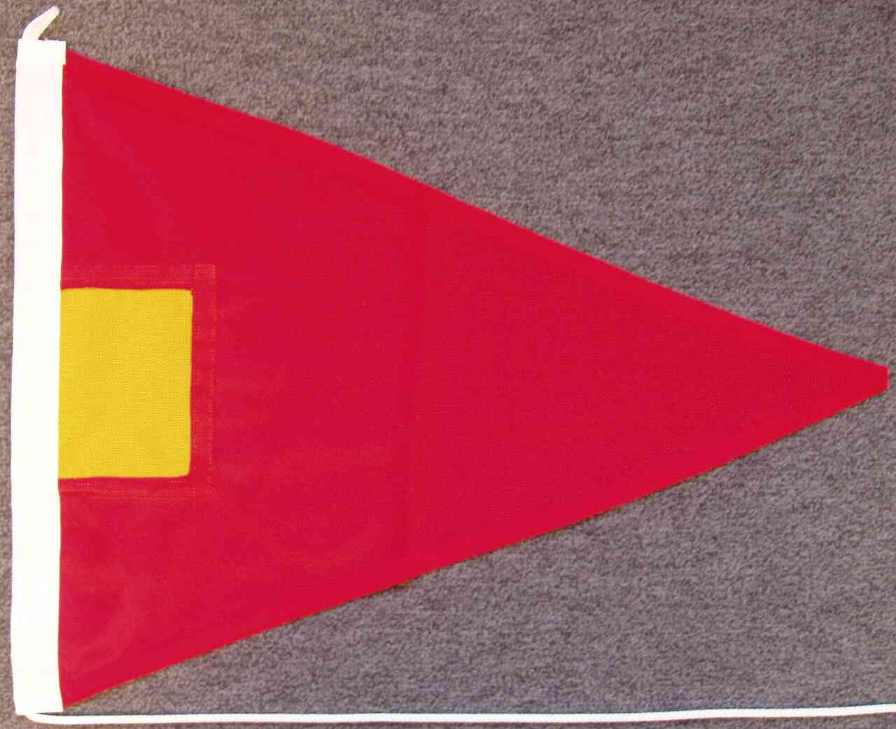 Signalflagge Hilfsstander 4